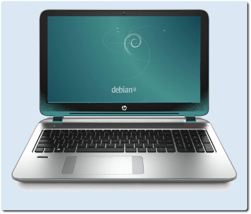 Notebook HP ENVY 15-k208nl e Debian Jessie