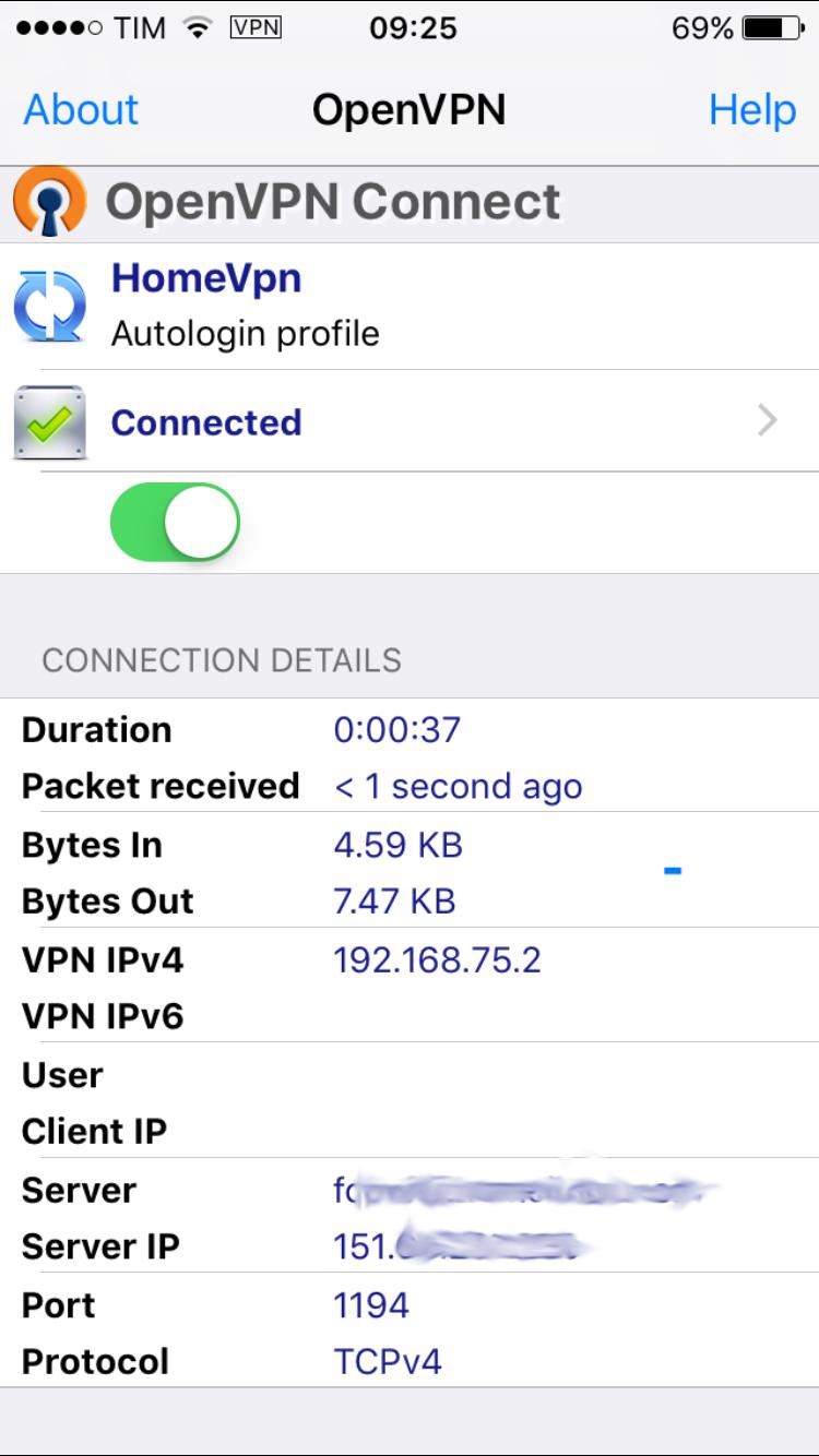 OpenVPN con DD-WRT Debian ed iPhone con ios 10