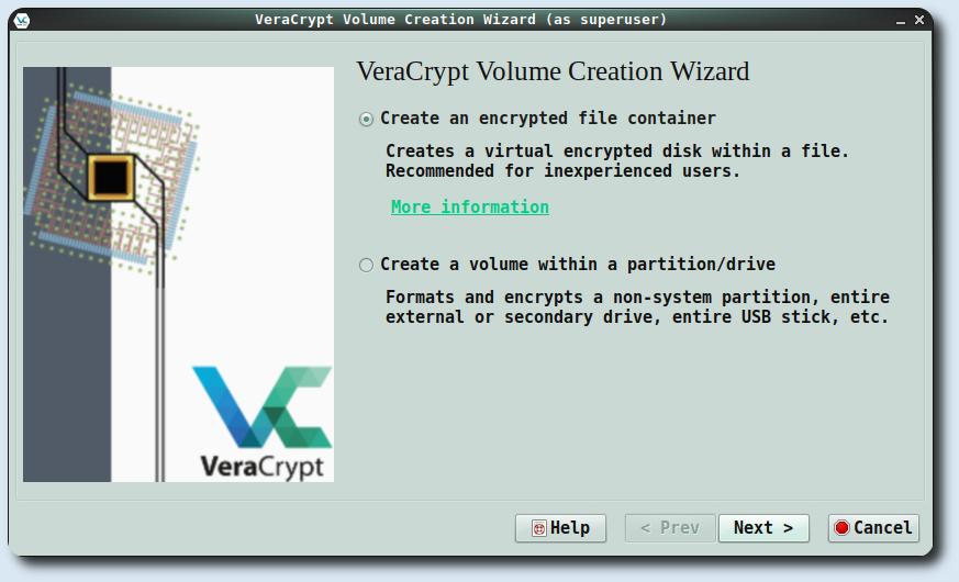 Installare VeraCrypt su Debian 9 Stretch