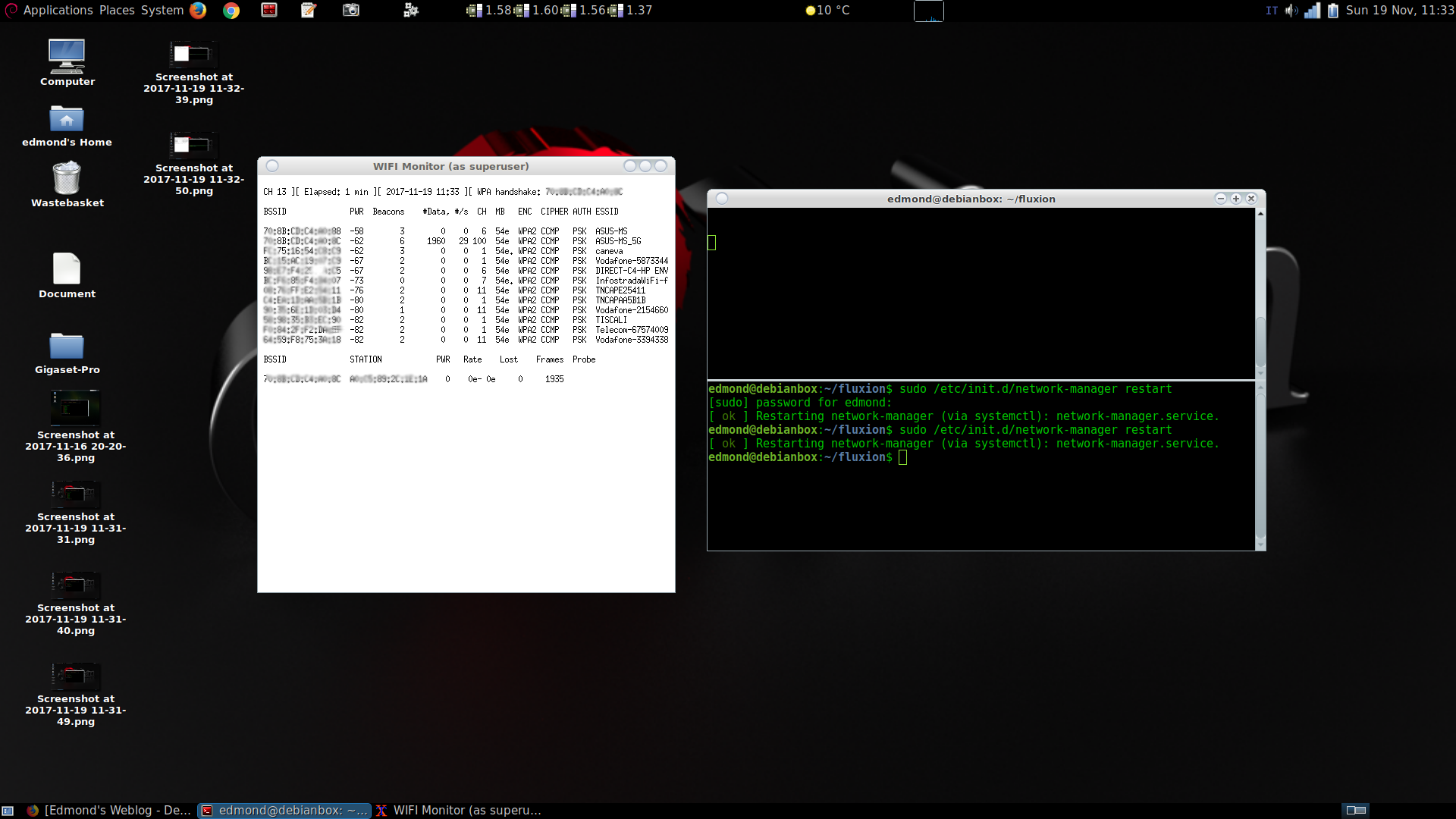Cracking WIFI WPA2 con Debian Stretch e Fluxion