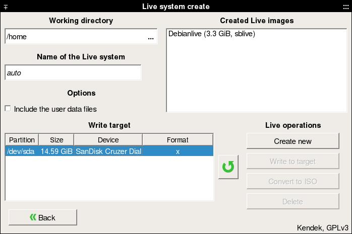 Systemback su Debian Stretch