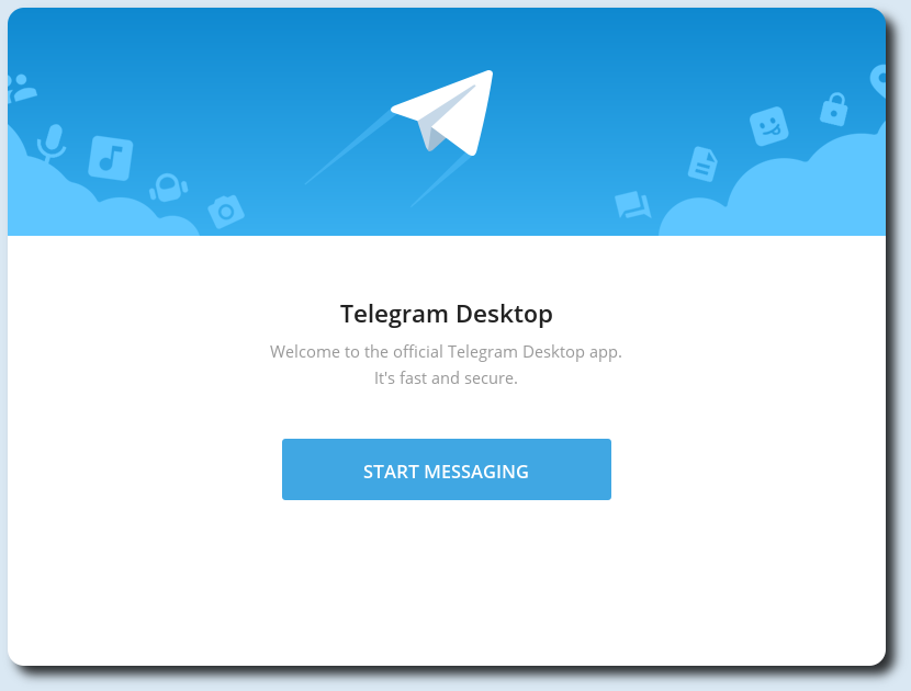 Telegram Messenger su Debian 9 Stretch