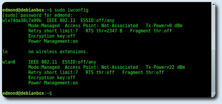 Connessione WPA2 WIFI da terminale con Wpa_Supplicant